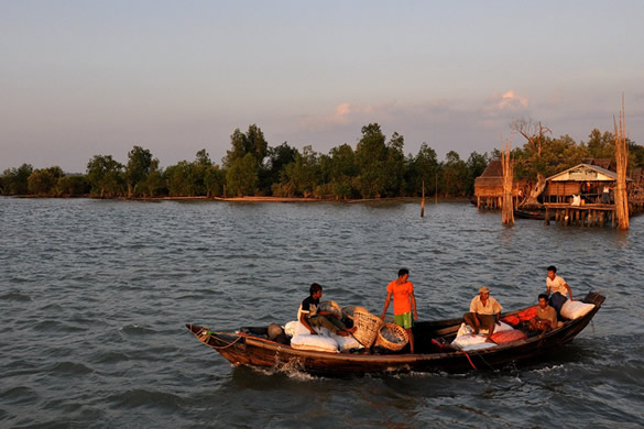 Myanmar Irrawaddy Delta