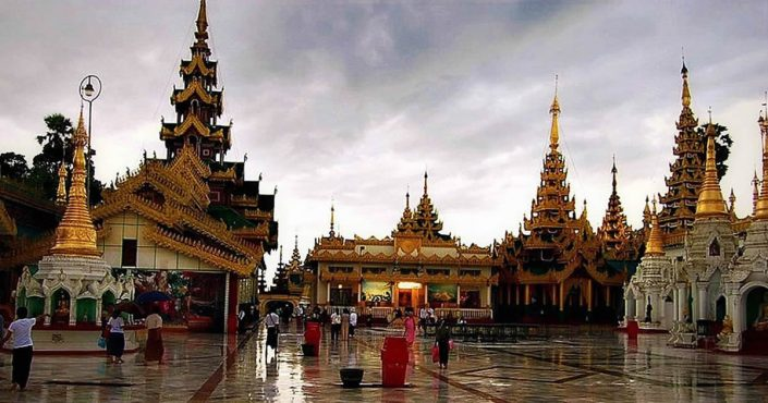 Rangun – Goldene Pagoden, Kolonialbauten und Skyscraper