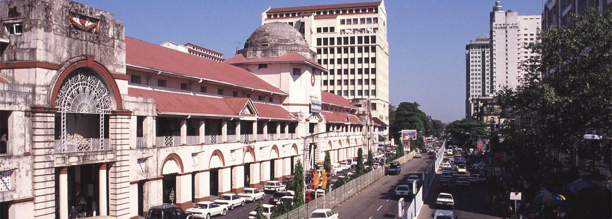 Scott Market in Rangun