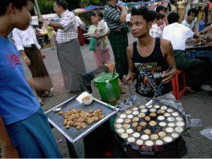 Streetfood Rangun