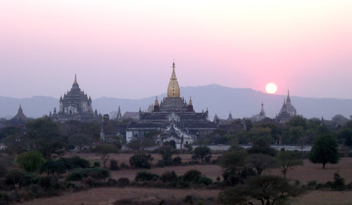 Bagan Sonnenutergang