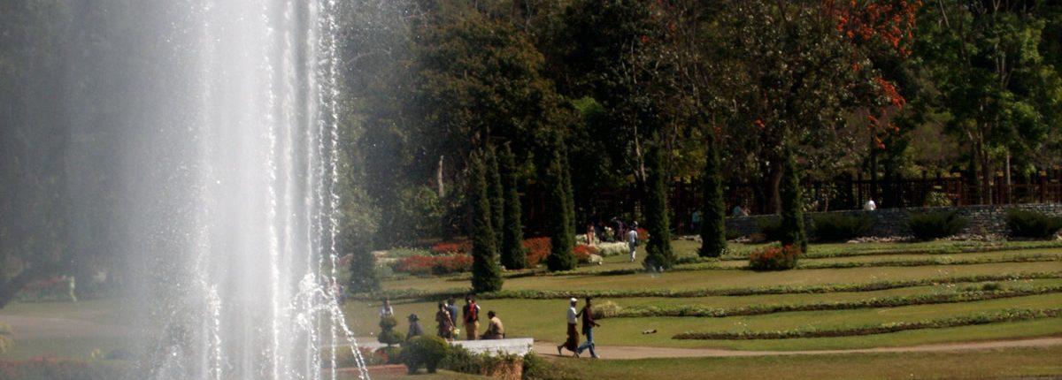 Kandawgyi Botanischer Garten Pyin U Lwin Myanmar