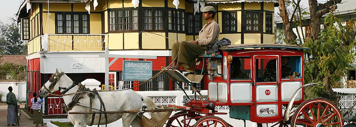 Pyin U Lwin Kutsche Myanmar