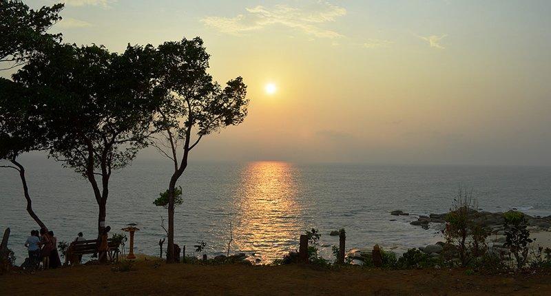 Dawei Myanmar mit Blick auf Andamanensee